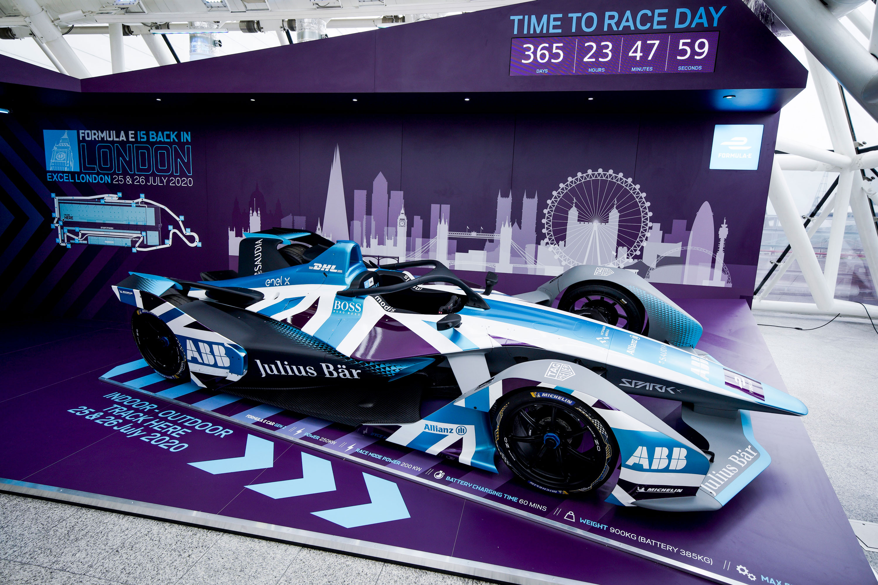 Formula E hosts official unveiling at ExCeL London   Conference News